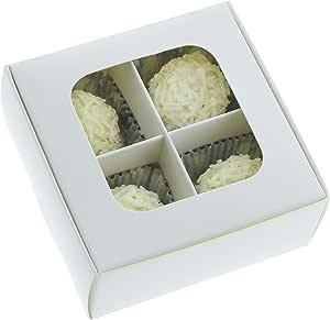 amazon com gretel mini treat boxes with window and