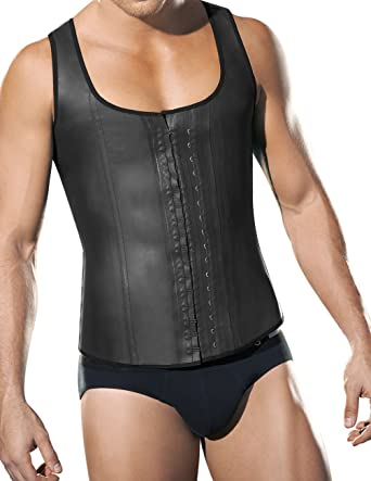 ba8b6ff375280 Amazon.com  Ann Chery Latex Men Girdle Body Shaper 2033  Clothing