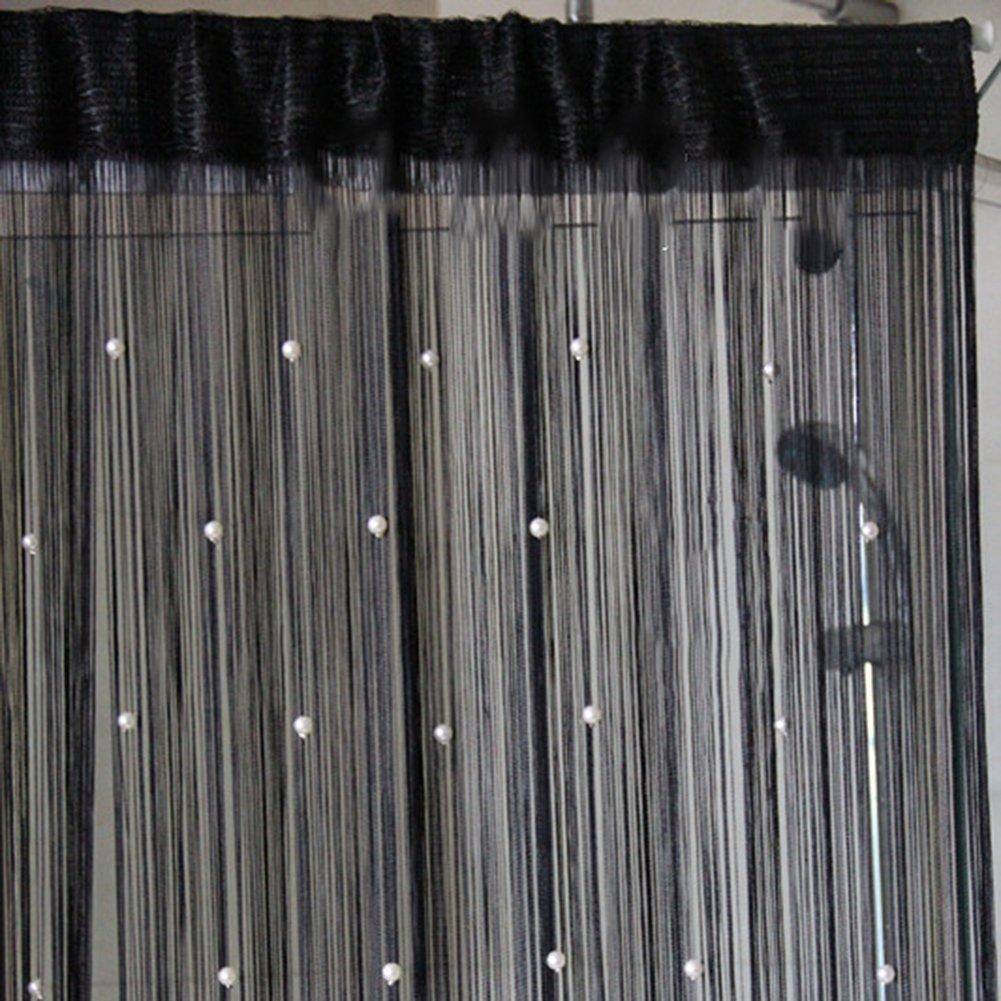 Multi Color Fringe Crystal Beads String Curtain Tassel Door Window Room Divider Junda