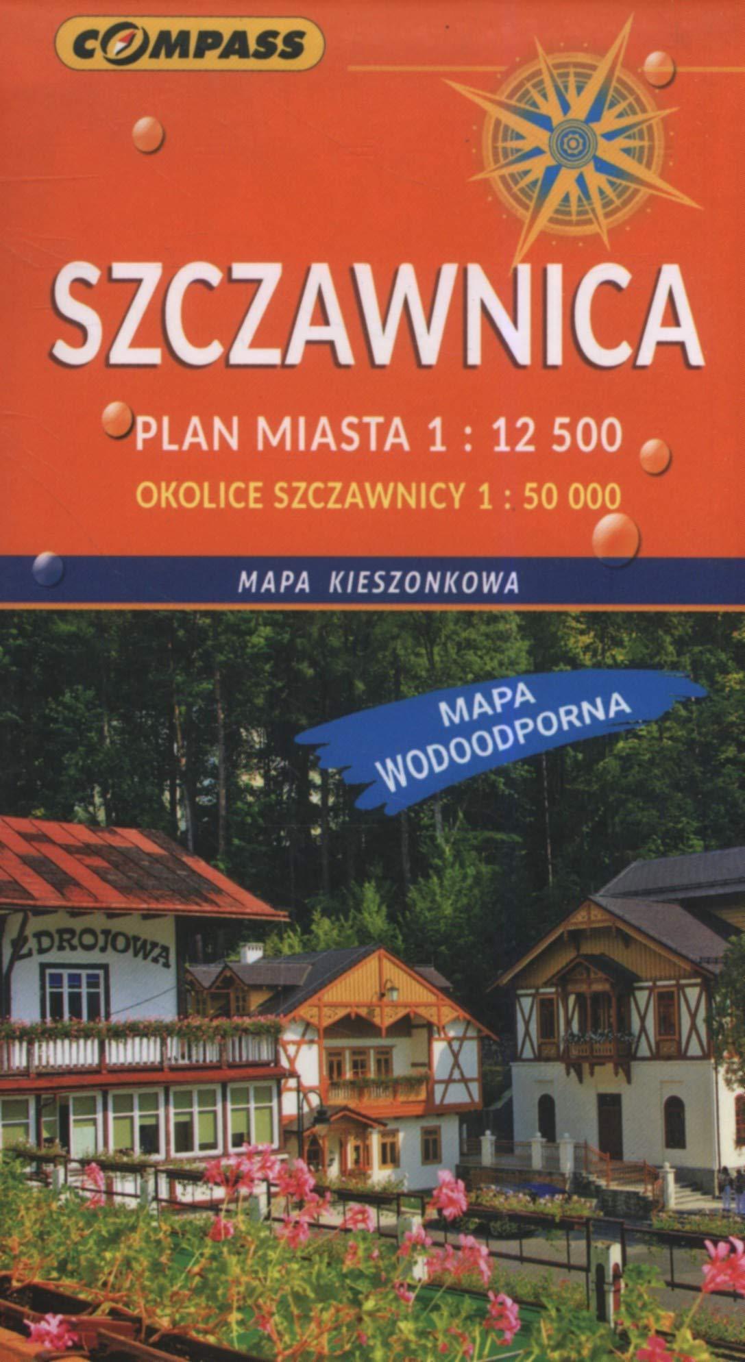 Mapa Kieszonkowa Szczawnica 1 12 500 Opracowanie Zbiorowe