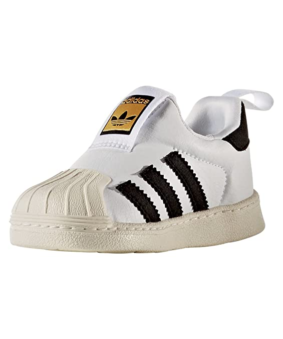 new products c3aa2 06f9d Adidas - Adidas Superstar 360 I Chaussures de Sport Petit Garçon Slip On -  Blanc, 26  Amazon.fr  Chaussures et Sacs