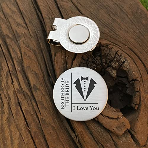 Amazon Brother Of The Bride I Love You Golf Gift For Brother
