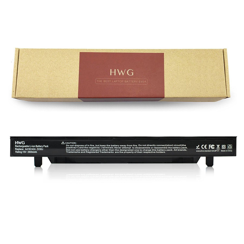 Bateria A41N1424 15V 2600mAh para Asus GL552 GL552JW GL552JX GL552V GL552VW ZX50BZX50V ZX50VW FX-Plus FX-PRO 6300 6700