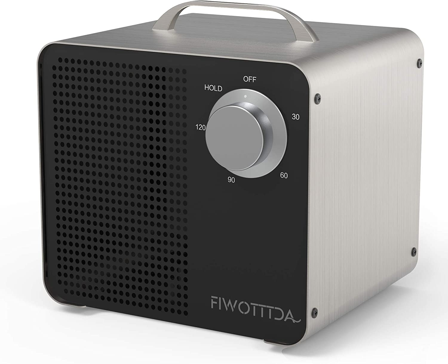 FIWOTTTDA Commercial Ozone Generator 10,000mg High Capacity for Home Rooms, Smoke, Cars and Pets, Black