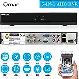 KKmoon 4 Canales 960H CCTV DVR Grabador de vídeo H. 264 HDMI Video Recorder Detección