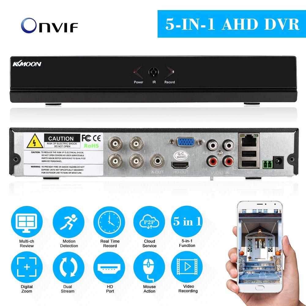 KKmoon 4 Channel Standalone CCTV DVR Recorder 960H H 264 HDMI VGA Output  Video Surveillance Pre-alarm Recording 4-ch video 2-ch Audio input  Pre-alarm