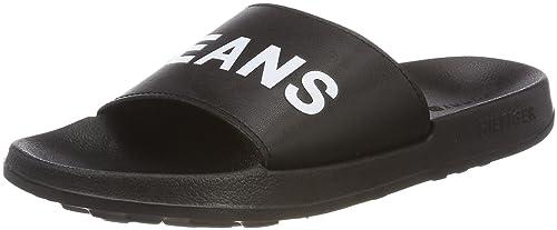 1f5fe1c7c Tommy Jeans Men s Slide Sandal Beach   Pool Shoes  Amazon.co.uk ...