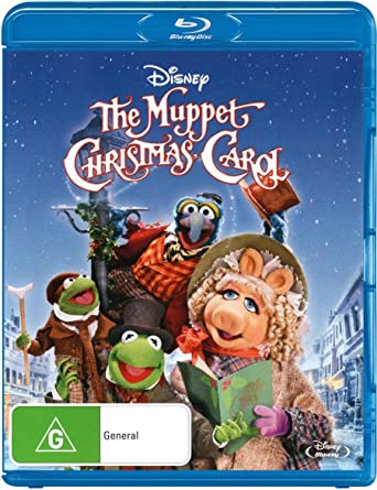 The Muppet Christmas Carol.Muppet Christmas Carol Amazon Co Uk Dvd Blu Ray