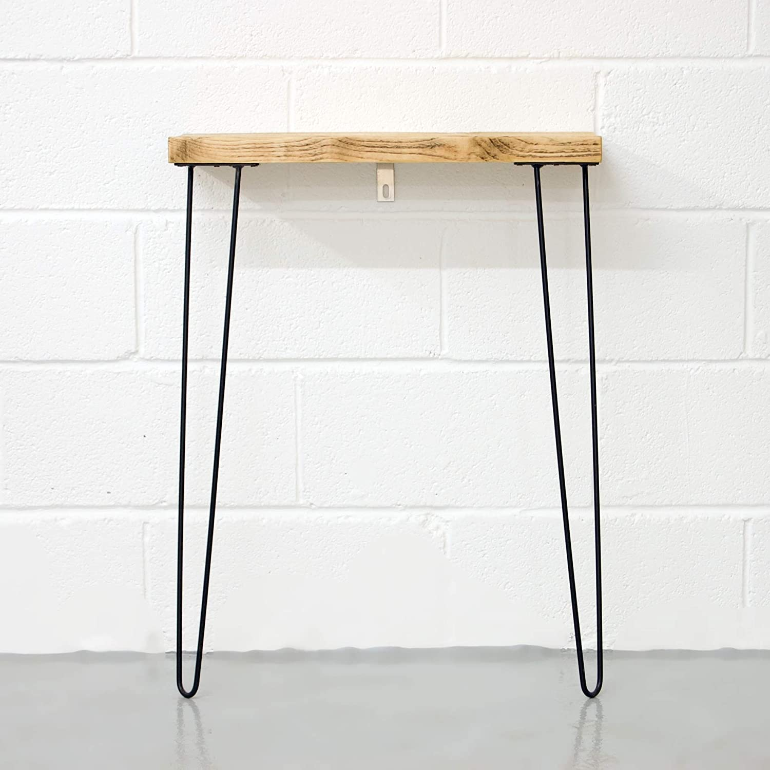 White Resin Folding Table, Amazon Com Narrow Console Table With Hairpin Legs Wooden Rustic Hallway Table Handmade