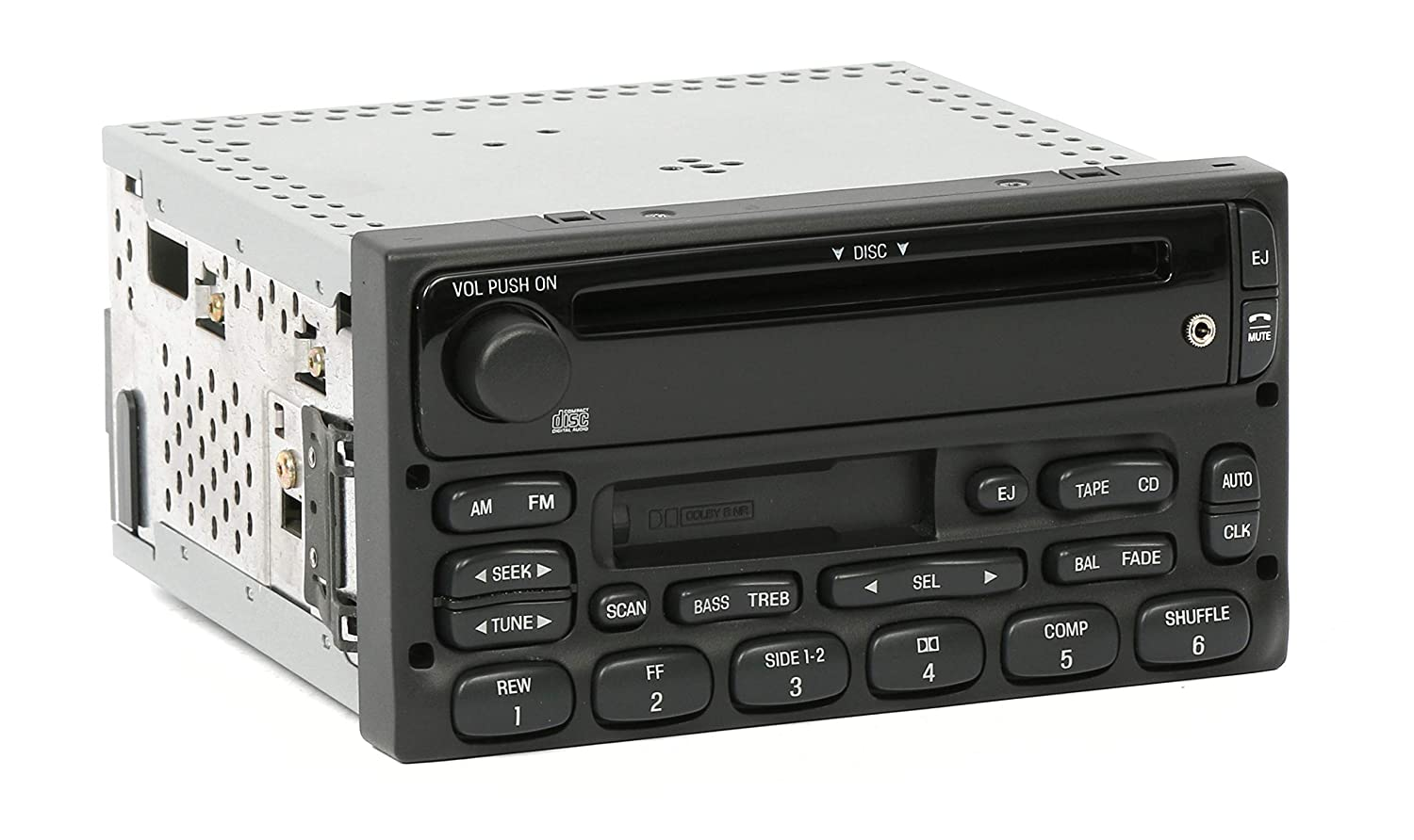 1 Factory Radio AM FM CD Cassette Player Compatible With 1999-10 Ford Ranger YU3F-18C868-AA