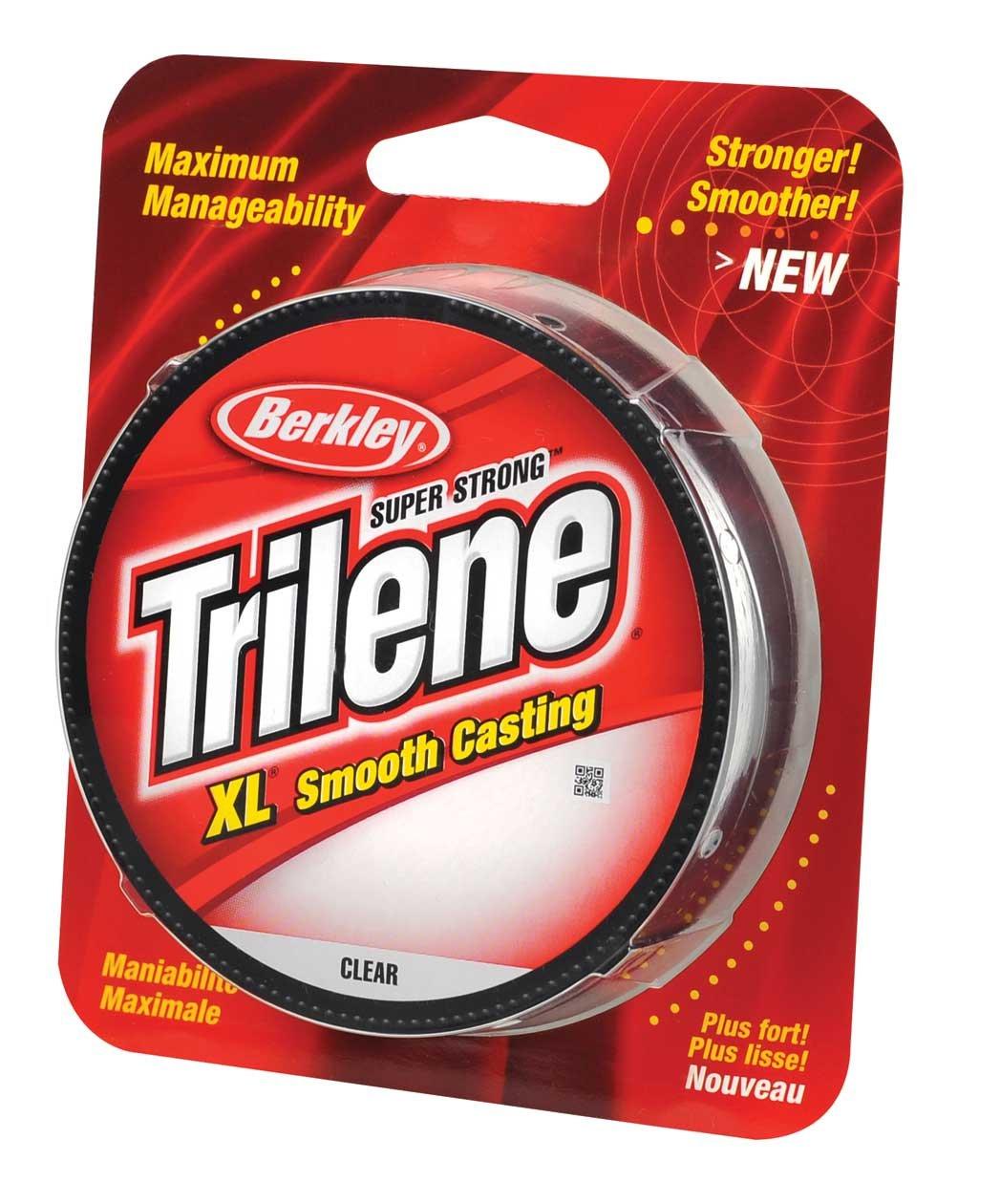 Amazon.com : Berkley Trilene XL Monofilament Fishing Line : Sports ...