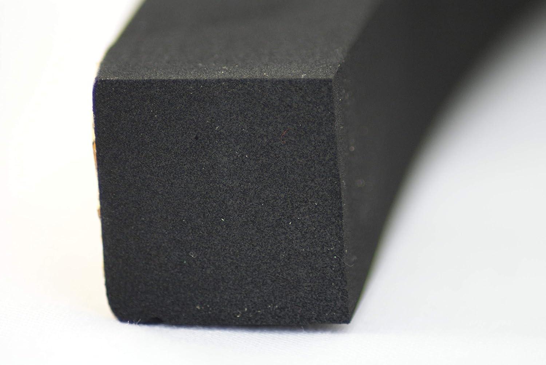 Rubber-Stuff Self Adhesive Neoprene Sponge 25mm x 25mm x 1m Rubber Products