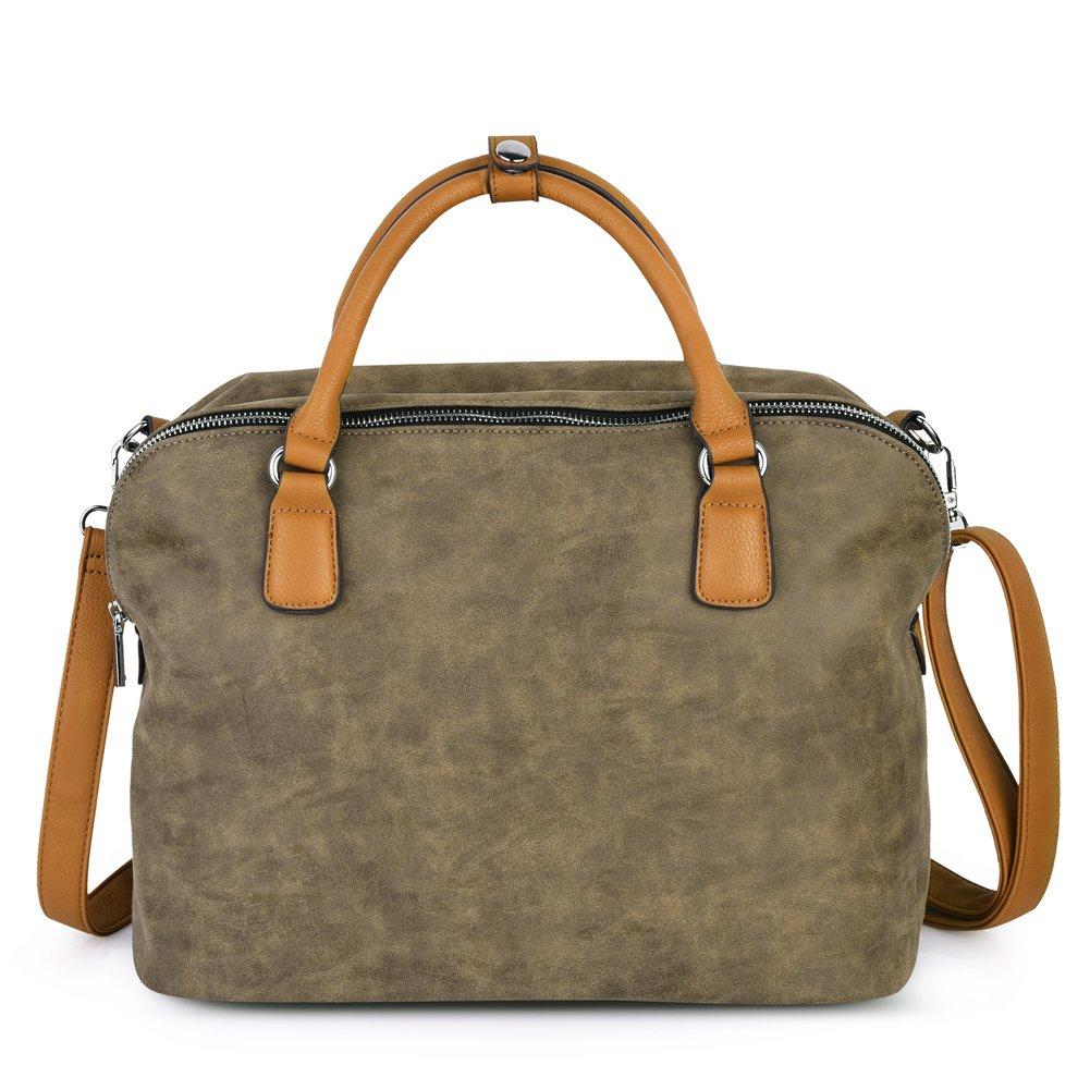 Vbiger Damen Handtasche Damen Henkeltasche Damen Aktentaschen Umhängetasche Schultertasche Cross-body Tasche