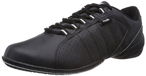 ad519150011 Fila Men Mercury Black and White Sneakers -6 UK India (40 EU)  Buy ...