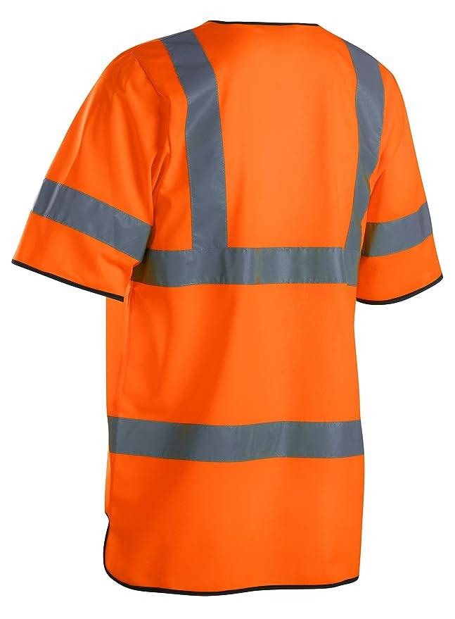 3dad79d9088c Blaklader Workwear Anti-Flame Waistcoat High Vis Cl 3 Yellow  Size XXL3X   Amazon.co.uk  Clothing
