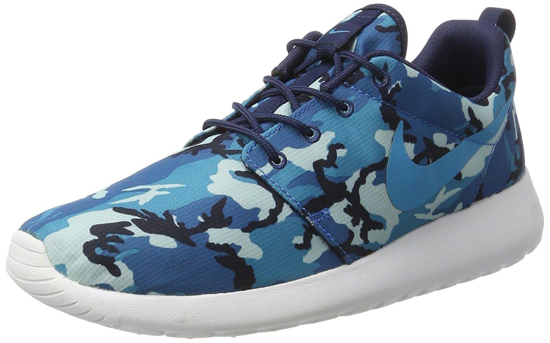 super popular 97627 0708f Nike Rosherun 511881 Herren Low-Top Sneaker 43 EUblau camouflage