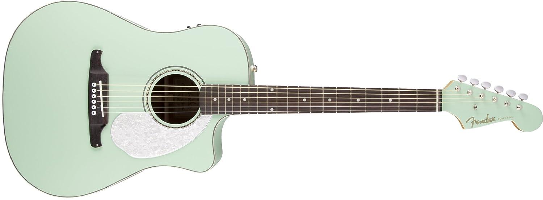 Fender 0968641057 Sonoran SCE - Guitarra eléctrica con cabezal a juego: Amazon.es: Instrumentos musicales