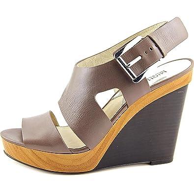 016acca029648 Michael Michael Kors Womens Wedged Sandals Cinder 7.5 US   5.5 UK US ...