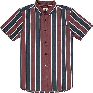 Element Icon Stripes Camisa de manga corta: Amazon.es: Ropa y accesorios