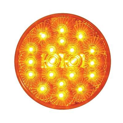 "Grand General 77090 Amber 4"" Round Spyder 20-LED Park/Turn/Clearance Sealed Light: Automotive"