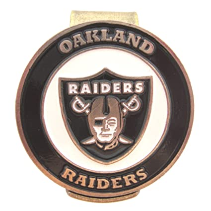 fc133f80 Amazon.com : Oakland Raiders Golf Hat Clip with Double Sided Ball ...