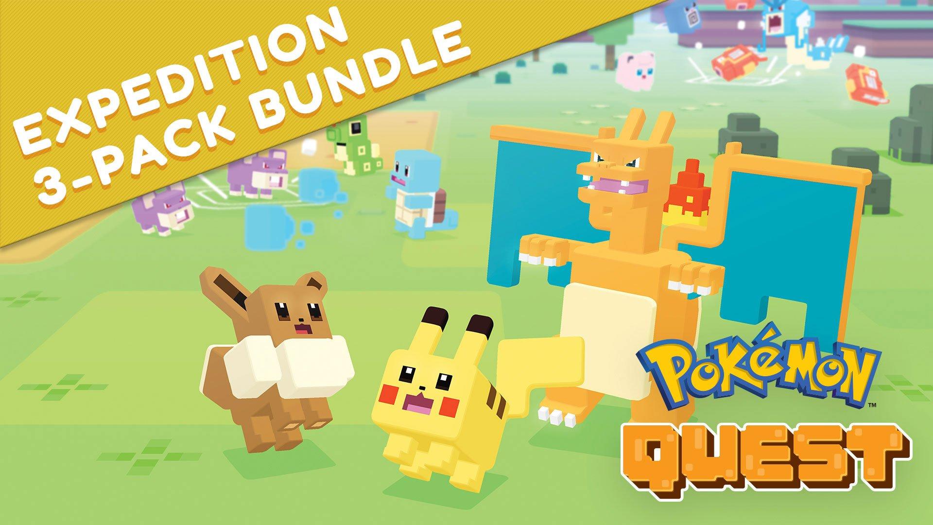 Pokémon Quest: Expedition 3-Pack Bundle - Nintendo Switch [Digital Code]