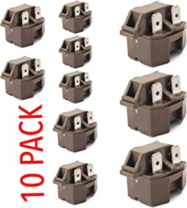 IC-4 Universal Freezer Refrigerator compressor PTC Start relay 10 pack
