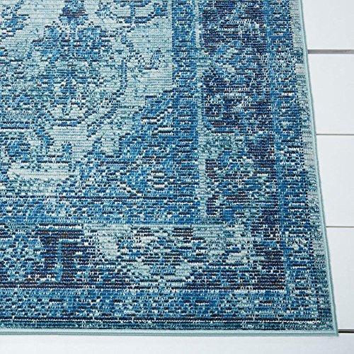 Nicole Miller Patio Starlight Myrtle 7'9 x 10'2 Indoor/Outdoor Area Rug Blue
