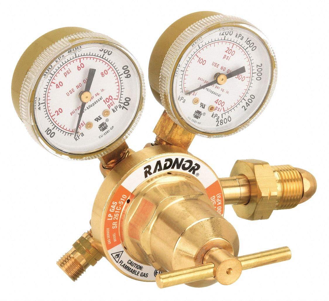 Gas Regulator,Oxygen,CGA-540 RADNOR RAD64003031