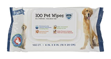 : Amazon.com: Creative Pet Group 50 Count Daily Fresh Scent All Natural Pet Wipes