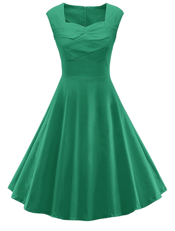 80%OFF V Fashion Women 1950s Style Retro Cap Sleeve Garden Party ...