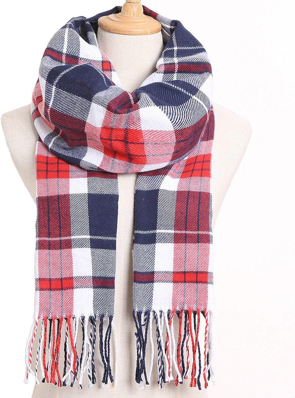 Winter Women Scarf Brand Foulard Plaid Scarves Fashion Casual Poncho Scarfs Luxury Bufandas