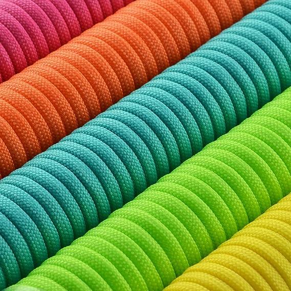 Universel einsetzbares Corde en nylon en diff/érentes couleurs et tailles 15/m