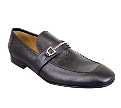 3556eb21a Amazon.com  Gucci Horsebit Black Leather Loafer 253302 1000 (14.5 G   15.5  US)  Shoes
