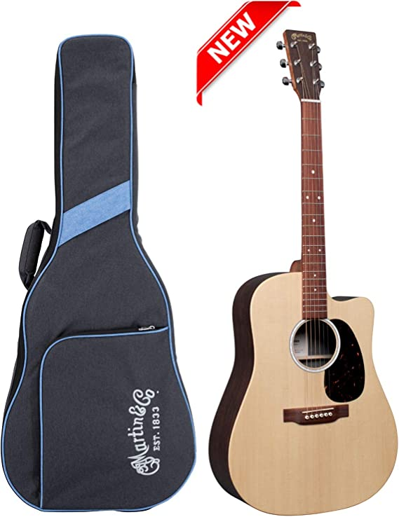 Martin DC-X2E Sitka/Rosewood HPL Natural w/Fishman MX & Gig Bag