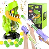 FANURY Dinosaur Shooting Games Toy for Kids 5 6 7 8 9 10+Year Old, Shooting Target Practice Kids Toy with Sound LCD Score Rec