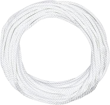 Solid Braid Nylon Utility Rope Multipurpose Rope For Commercial Applications Anchors Crafts 1 4 X 250ft White Amazon Com