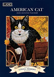 Lang American Cat 2020 Monthly Planner (20991012094)
