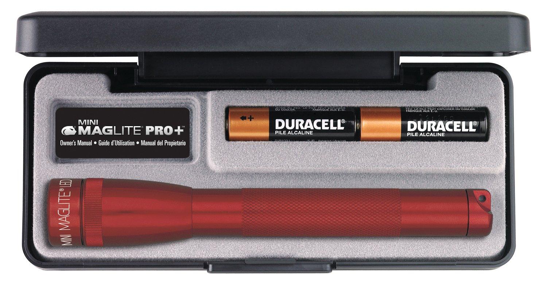 Linterna Maglite : AA Mini LED Pro  Presentation Box Rojo