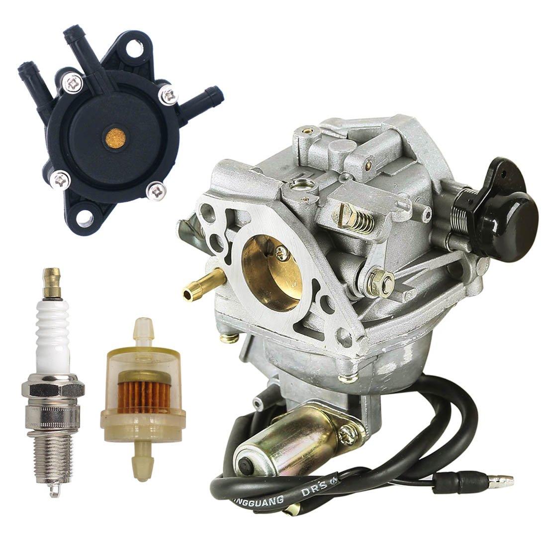 Amazon.com: NIMTEK 16100-ZJ0-871 Carburetor with Fuel Pump Spark Plug Fuel  Filter for Honda GX610 18HP & GX620 20HP Engine: Automotive