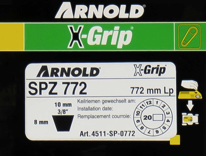 Arnold 4511 de SP A-0772 - Correa en V: Amazon.es: Bricolaje ...