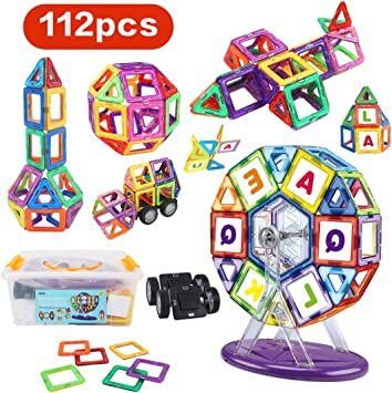 MAGFORMERS standard set line 30 PEZZI educativo COSTRUZIONI magnetiche 3D età 3+