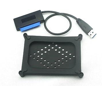 Nimitz USB 3,0 A Sata 22 P 6,35 cm Cable adaptador de disco duro ...