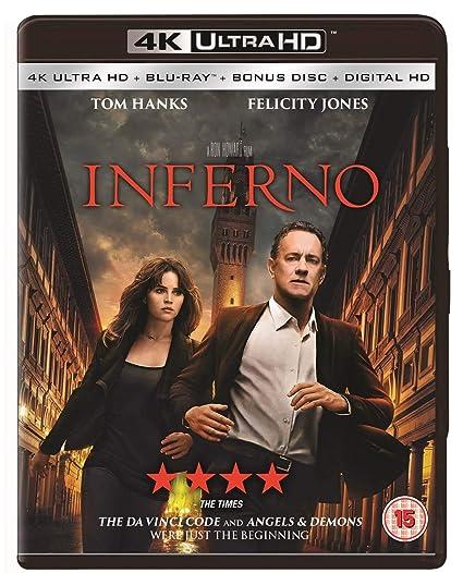 Inferno [Italia] [Blu-ray]: Amazon.es: Tom Hanks, Felicity Jones ...