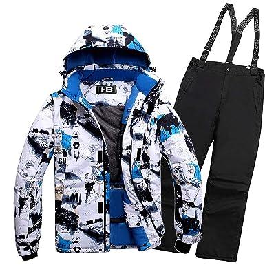 Joey Hombre Trajes de esquí Invierno Protección contra el ...