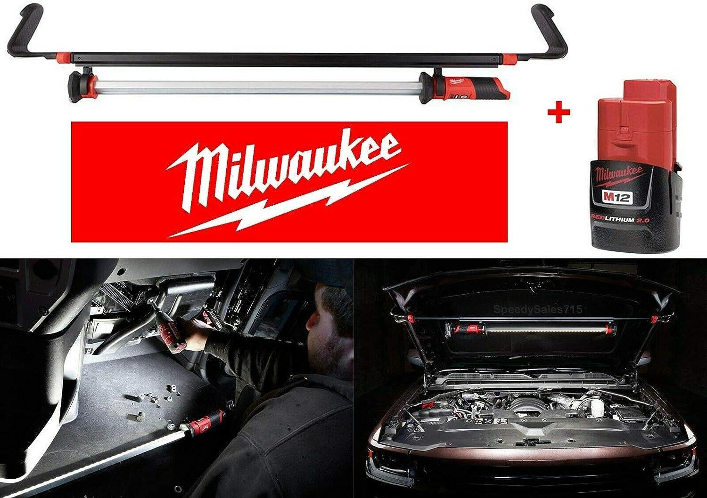 Milwaukee M12 LED Underhood Light BARE TOOL 2125-20