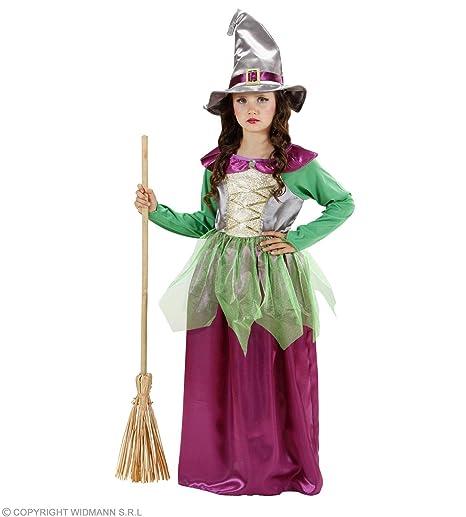 WIDMANN 1295 V Bambini Costume strega bad4d3215b3