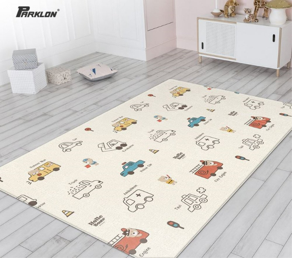 フジオカシ Parklon 235x140x1.5cm Pure Soft Play Mat Hello B07FZ5PNV3 Bear Beep & Beep Beep Design Double-sided mat 両面デザイン赤ちゃんプレイマット(海外直送品) (235x140x1.5cm) B07FZ5PNV3 235x140x1.5cm, 洋品百貨YAMATOYA:ceb37bfd --- svecha37.ru