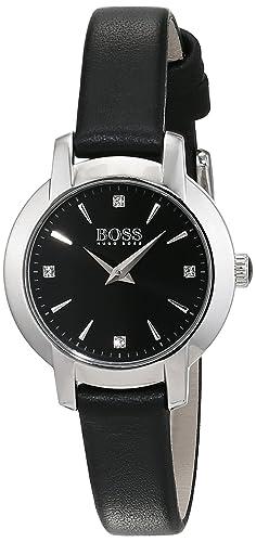 317367a9 Image Unavailable. Image not available for. Colour: Hugo Boss Ladies  Success Women's Quartz Black ...