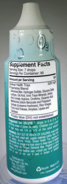 Fivelac Candida Defense / Oxygen Elements Max Dietary Supplement